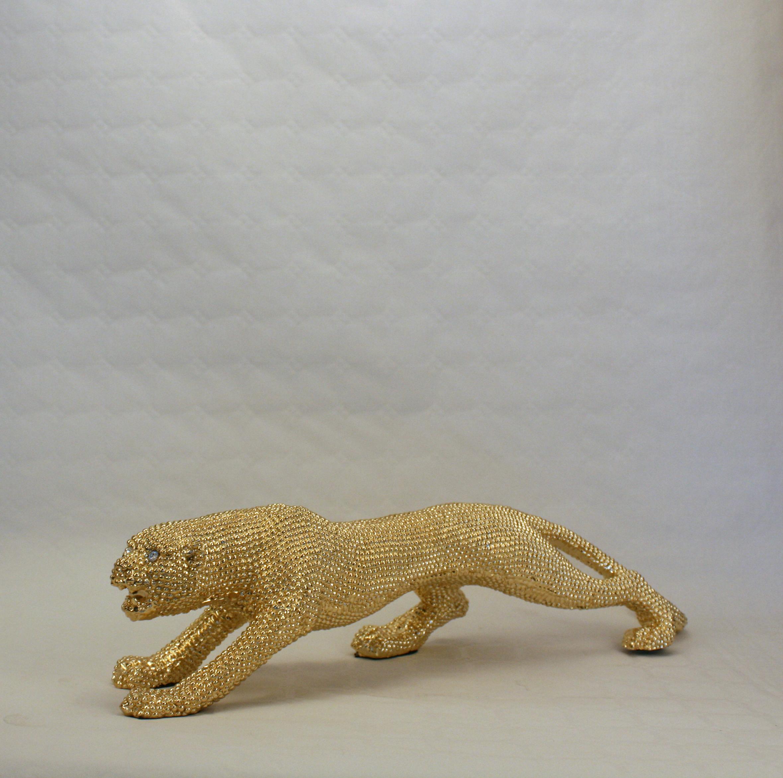 Leopard - Guld - Mellem - 1
