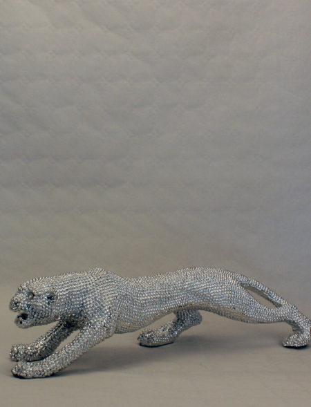 Leopard - Sølv - Mellem - 1