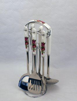 Køkkensæt - Rød - 2